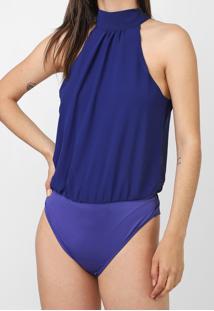 Body Dimy Textura Azul - Kanui