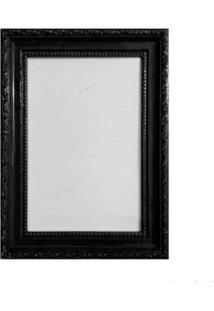 Porta Retrato 15X21Cm Queem Preto Brilhante Infinity