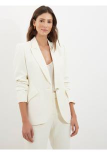 Blazer Le Lis Blanc Vitoria Off White Feminino (Off White, 36)