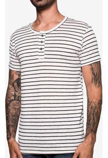 Camiseta Henley Listrada 103502