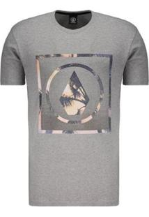 Camiseta Volcom Silk Stone Palms Solid Masculina - Masculino