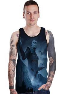 ... Regata Lucinoze Camisetas Rei Da Noite Preto -53% Dafiti e4a14717250