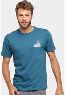 Camiseta Quiksilver Básica Palm Masculina - Masculino