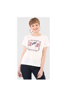 Camiseta Cantão Dançante Branca