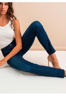 Calça Jeans Skinny Feminina Azuls