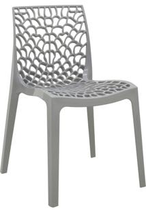 Cadeira Gruvyer Cinza Rivatti Móveis