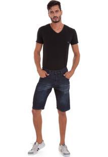 Bermuda Jeans Versani Masculino - Masculino