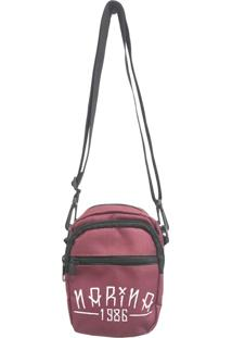 Bolsa Narina Skate Side Bag Tirocolo Outline Vinho