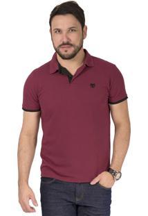 b8559b06c8 ... Camisa Polo Phox Premium - Bordô 1010-06 - Gg