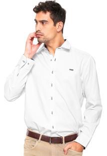 Camisa Mr. Kitsch Texturizada Branca