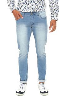 Calça Jeans Fiveblu Slim New York Azul