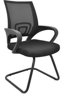 Cadeira Para Escritório Santiago- Preta- 90X57X58Cm