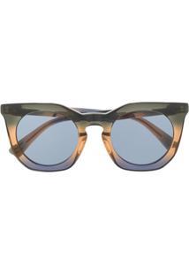 Diesel Óculos De Sol Em Degradê - Preto