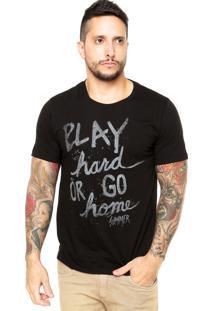 Camiseta Sommer Play Preta