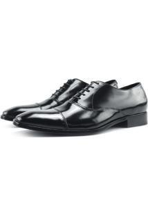 Sapato Oxford Monbran Dressy 05-19031-P Preto