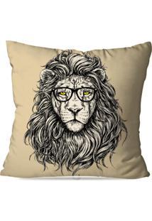 Capa De Almofada Avulsa Decorativa Leão