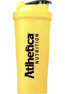 Coqueteleira Blender W/ Ball Neon Com Mola 600 Ml Amarela Atlhetica Nutrition