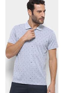 Camisa Polo Watkins & Krown Masculina - Masculino-Cinza