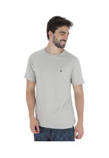 Camiseta Hurley Silk Incon - Masculina - Cinza Claro