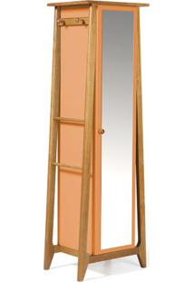 Armario Multiuso Stoka Cor Amendoa Com Laranja - 31597 Sun House