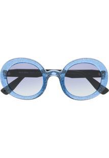 Óculos De Sol Azul Miu Miu feminino   Shoelover 4f0c4b7f7c
