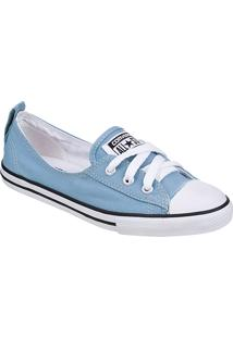 Tênis Feminino Converse All Star Ct As Ballet Lace Celeste/Bco/Pto - Ce 0011.0001