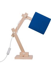 Luminaria Carambola Articulada Azul