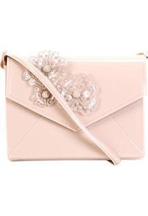 Bolsa Petite Jolie Mini Bag Verniz Express I Feminina - Feminino-Rosa Claro