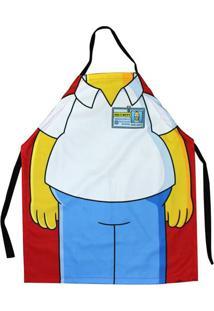 Avental Homer Simpsons Em Canvas 75 X 60 Cm