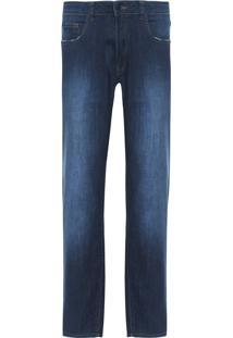 Calça Jeans Masculina Dark Classic - Azul