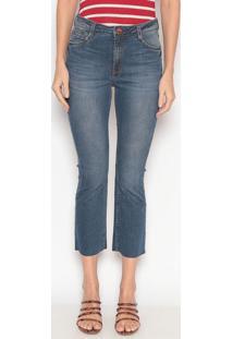 Jeans Cropped Bootcut - Azuldudalina