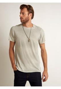 Camiseta John John Budapest Malha Off White Masculina Tshirt Budapest Off White-Off White-P