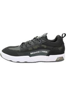 Tênis Dc Shoes Legacy 98 Masculino - Masculino-Preto+Branco