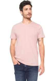 Camiseta Colcci Original Reta Rosa