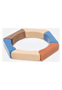 Pulseira Hexagonal Em Resina | Accessories | Multicores | U
