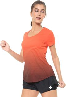 Camiseta Alto Giro Listrada Neon Laranja