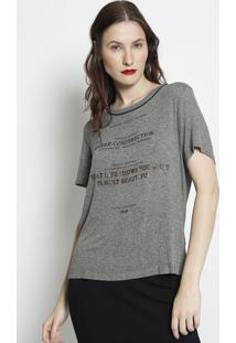 """Camiseta Mescla """"Gold Construction""""- Cinza & Douradaforum"""