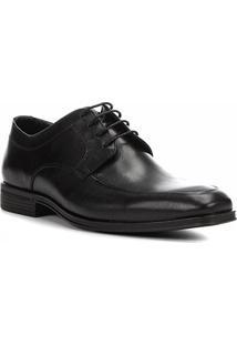Sapato Social Couro Shoestock Cadarço Masculino - Masculino