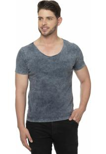 Camiseta Alfaiataria Burguesia Metalist Escoled Azul