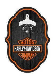 Abridor De Garrafa Colonial Harley Davidson
