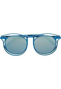 Karen Walker Óculos De Sol 'Simone' - Azul