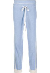 Max & Moi Drawstring Waist Trousers - Azul