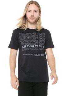 Camiseta John John Rx Ultravioleta Preta