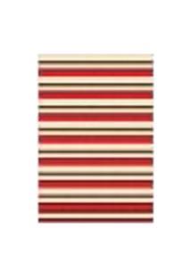 Tapete Saturs Moderno Listrado Vermelho 140 X 400 Cm Tapete Para Sala E Quarto