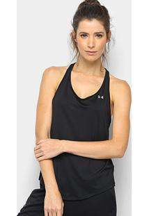 Regata Under Armour Hg Mesh Back Feminina - Feminino