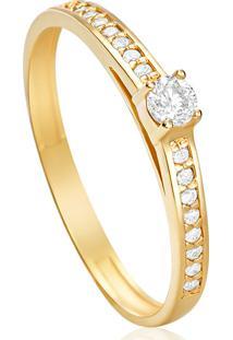 933cadfb1a9af Anel Diamante Solitario feminino