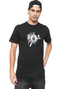 Camiseta Volcom Radiate Preta