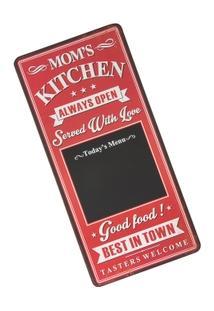Quadro Negro Decorativo Mom?S Kitchen - Unissex