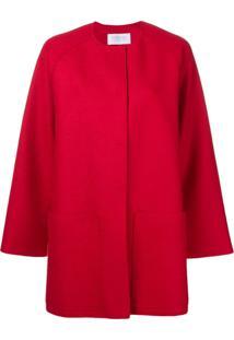 Harris Wharf London Casaco Modelagem Solta - Vermelho