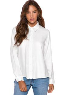 Camisa Manga Longa Ellen Sislla Branca
